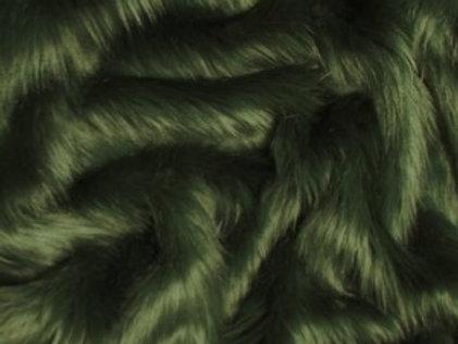 Hunter Green Luxury Shag