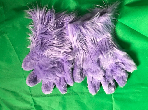 5 Digit Hand Paws - Lavender