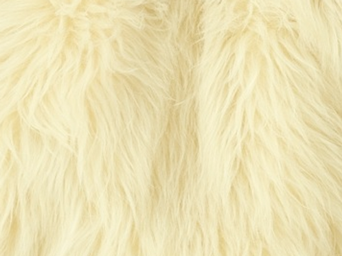 Fluffy Pastel Yellow