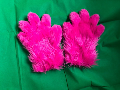 5 Digit Hand Paws - Hot Pink