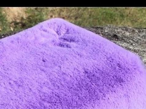 Lavender Plush Bunny