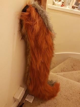 Tail rust grey custom