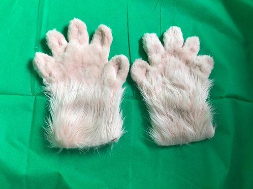 5 Digit Hand Paws - Blush Pink