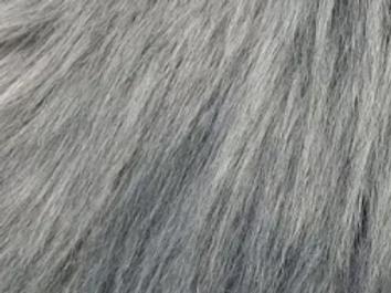 Lighter Mid - Grey Luxury Shag - Half Yard Piece