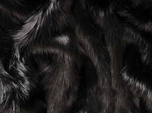 Black Ecoshag - Half Yard Piece