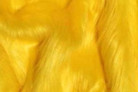 Yellow Ecoshag - Half Yard Piece