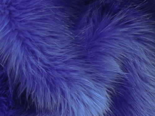 Royal Blue Efutro Fox - Half Yard Piece