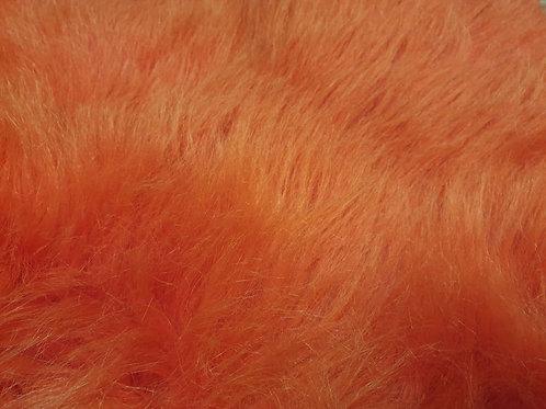 80cm long slushie red - Quarter Yard Piece