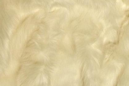 Ivory Ecoshag - Quarter Yard Piece