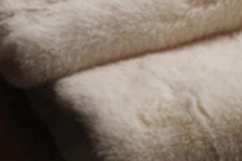 Cream Plush Bunny