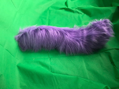 Purple Canine Tail