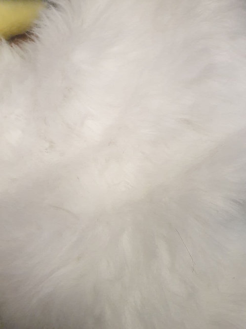 CRS Ivory White Fox - Half Yard Piece