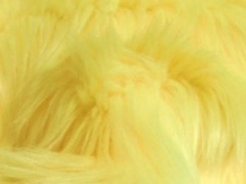 Pastel Yellow Luxury Shag