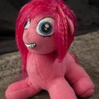 pinkamena plushie pink mlp pony