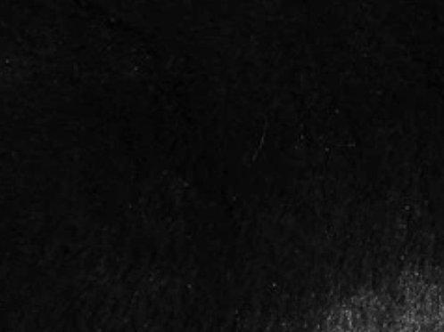 Black Plush Bunny