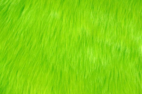 Lime Green Luxury Shag