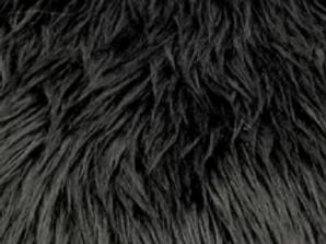 Black Ecoshag - Quarter Yard Piece