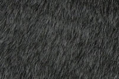 Dark grey medium pile
