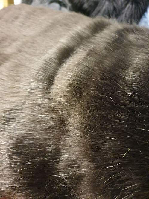 Dark Brown Shiny 35mm pile