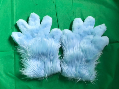 5 Digit Hand Paws - Baby blue