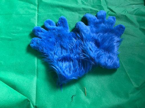 5 Digit Hand Paws - Royal Blue