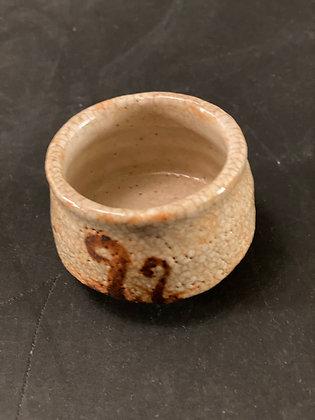Sake cup, Guinomi (Shino)  [DW-C 1078]