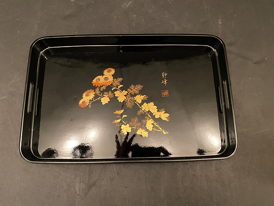 Lacquer tray  [H-T 1237]