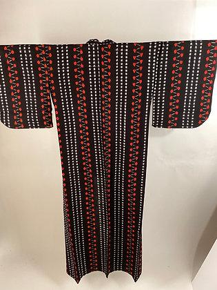Kimono, Kasuri  [T-K 1188]