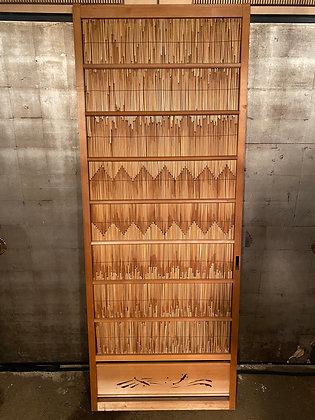 Reed Door  [AR-D 1041]