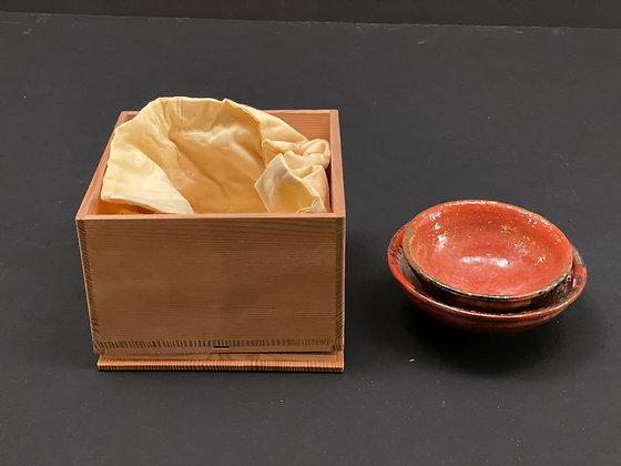 Tea bowl, Akaraku [TI-C 1019]