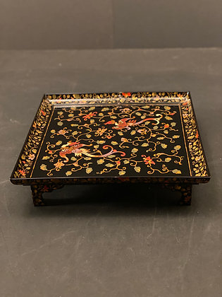 Lacquer Makie Tray (set of 5)  [H-T 1166]