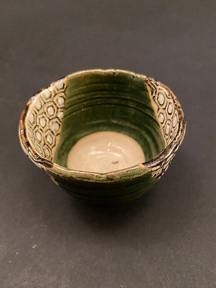 Tea bowl, Oribe [TI-C 1033]