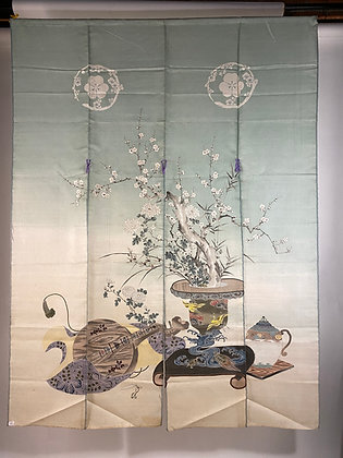 Kanagawa Yuzen Noren [T-N 1070]