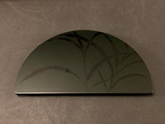 Kaiseki Lacquer Plates (set of 5)  [DW - P 1052]