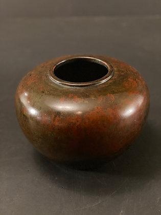 Murashido Bronze flower vase  [H-V 1068]