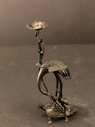 Bronze candle stand  [H-CS 1219]