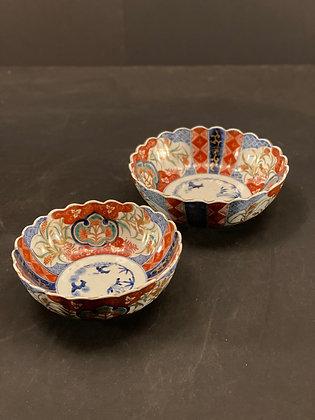 Imari Bowls (set of 2)  [DW-B 1097]