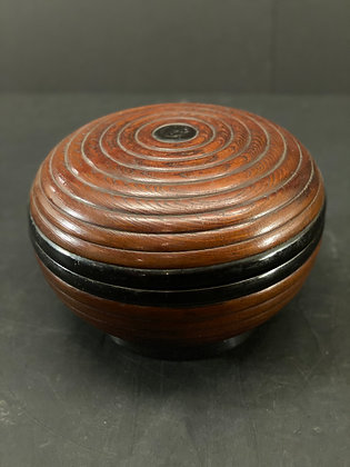 Lacquer container, Keyaki  [M-B 1079]