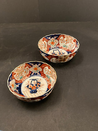 Imari Bowls (set of 2)  [DW-B 1098]
