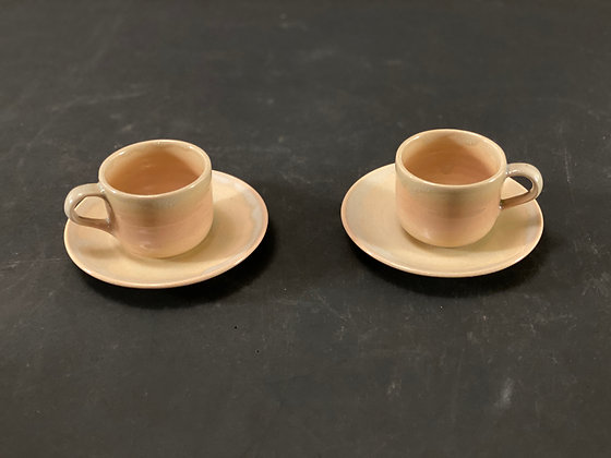 Hagi Coffee Cups (pair)  [DW-C 1046]