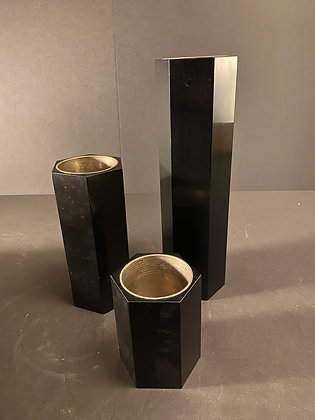 Lacquer Vases (set of three) [TI-V 1003]
