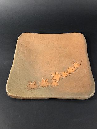 Modern Bizen Plate [DW-P 213]
