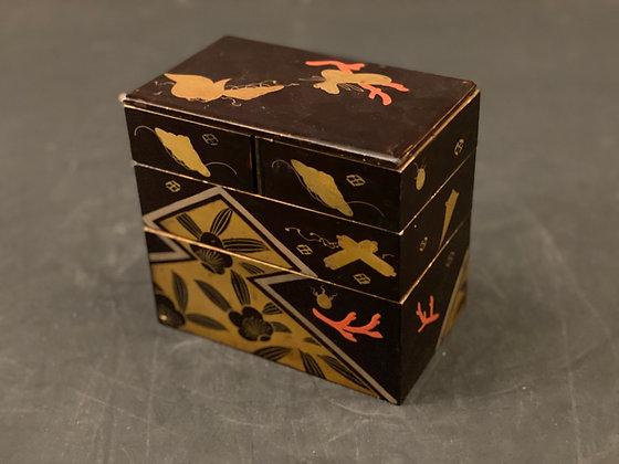 Makie Lacquer box  [DW-J 1102]
