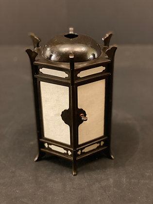 Bronze paper lantern  [H-L 1164]