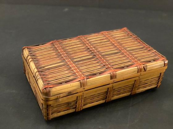 Lidded Basket  [H-BA 1185]
