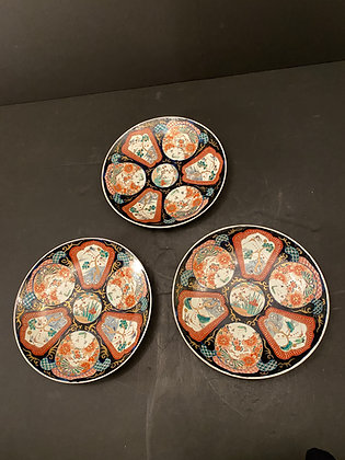 Big Imari Plate (set of 3)  [DW-P 1136]
