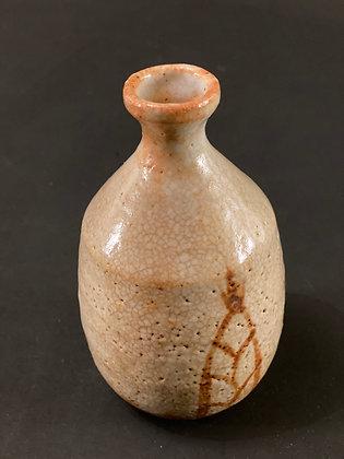Sake Bottle, Shino  [H - B 1096]