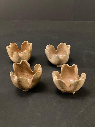 Hagi bowls (set of 4)  [DW-B 1084]