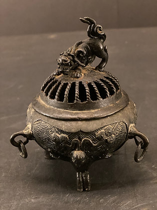 Bronze incense burner  [H-I 1218]