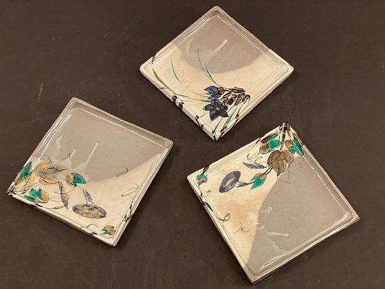 Kenan Ogata Plates (set of nine) [DW-P 327]